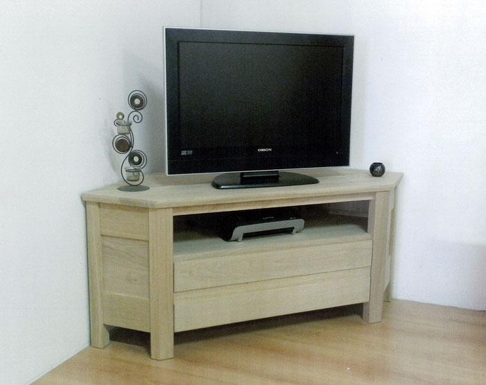 Meuble tv angle ancien sammlung von design for Reproduction meuble design